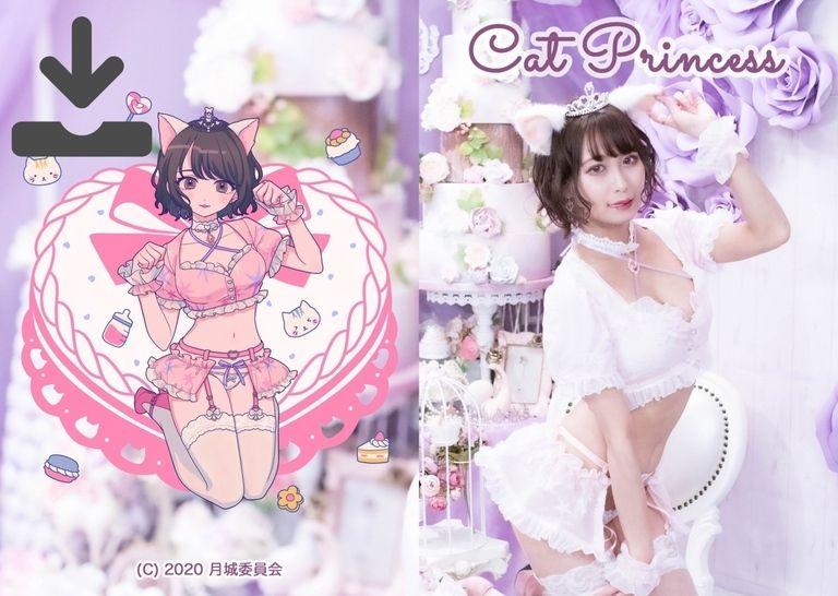 DL版《Cat Princess》Birthday写真集