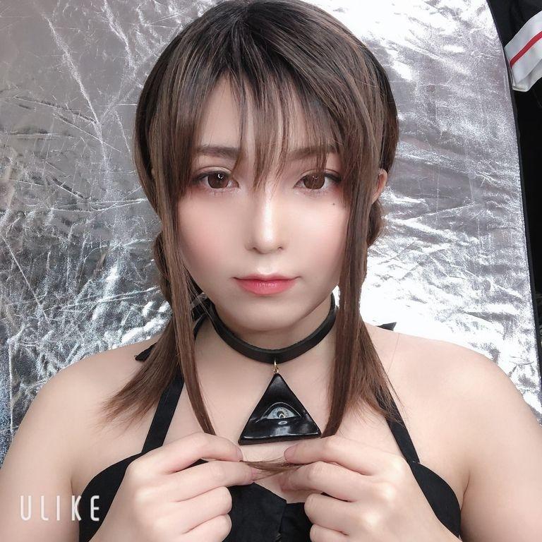 女装ウィッグ(ミディアム・三つ編み)+チェキ
