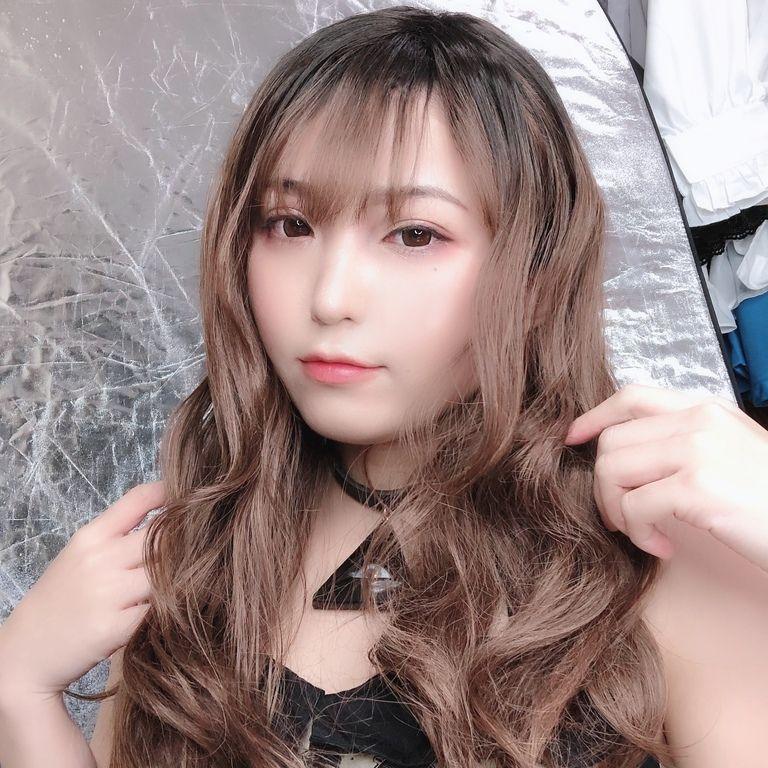 【女装ウィッグ】ロングカール+チェキ