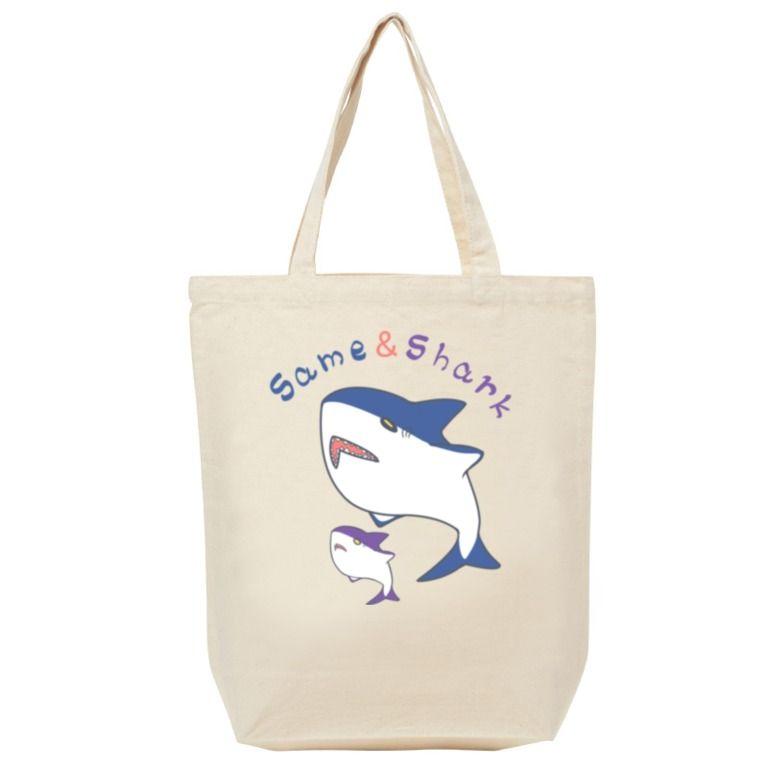 Same&Shark(1)トートバッグ