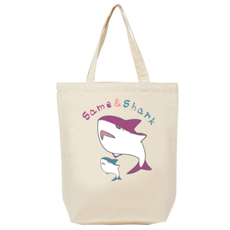 Same&Shark(2)トートバッグ