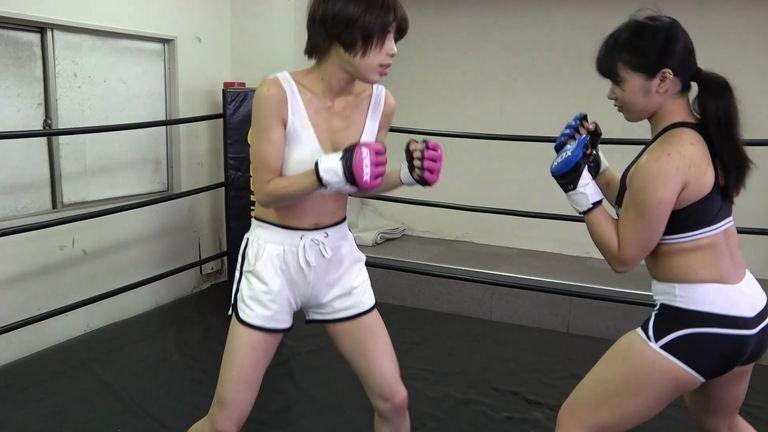 悶絶総合格闘技002 日向菜々子vs満島みう Agony Mixed Martial Arts 002 Nanako Hinata vs Miu Mitsushima