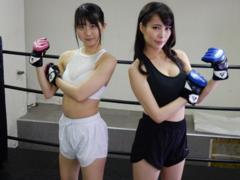 悶絶総合格闘技004 真木今日子vs浅倉真凛  Agony MMA 004 Kyoko Maki vs Marin Asakura