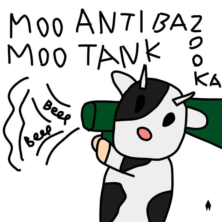 MOO MOO ANTI TANK BAZOOKA - EP