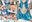 コスティック+手コキ搾精シリーズ セーラー・マ○キュリーの「おち○ぽ扱かれて反省しなさい!」