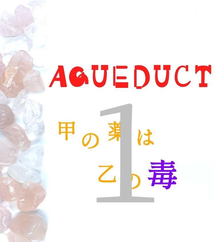 AQUEDUCT 甲の薬は乙の毒 1