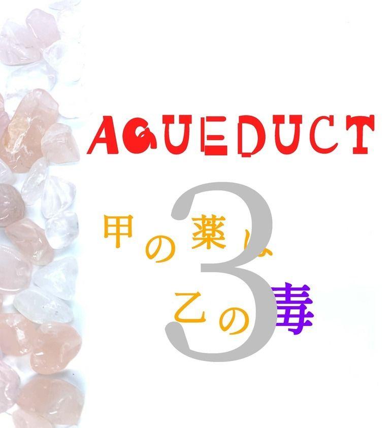 AQUEDUCT 甲の薬は乙の毒 3