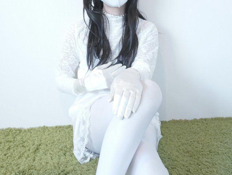 純白コーデ