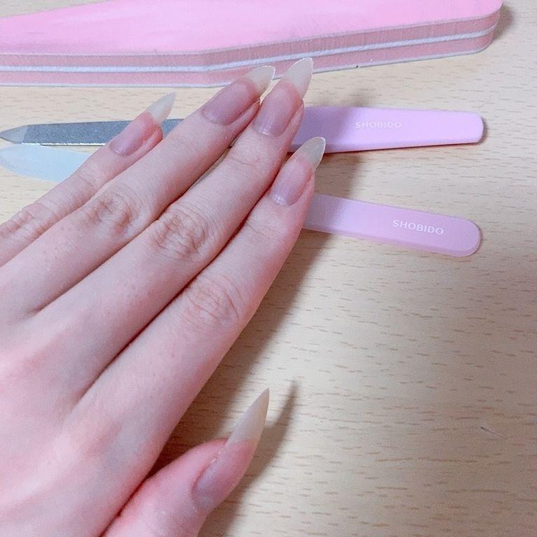 爪を削る動画