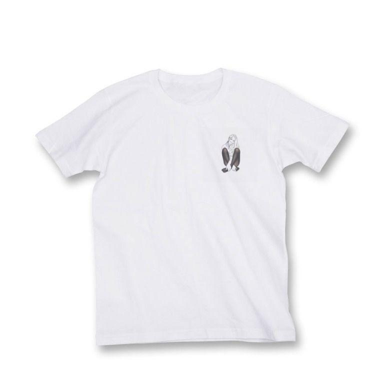 オリジナルイラストTシャツ(M)