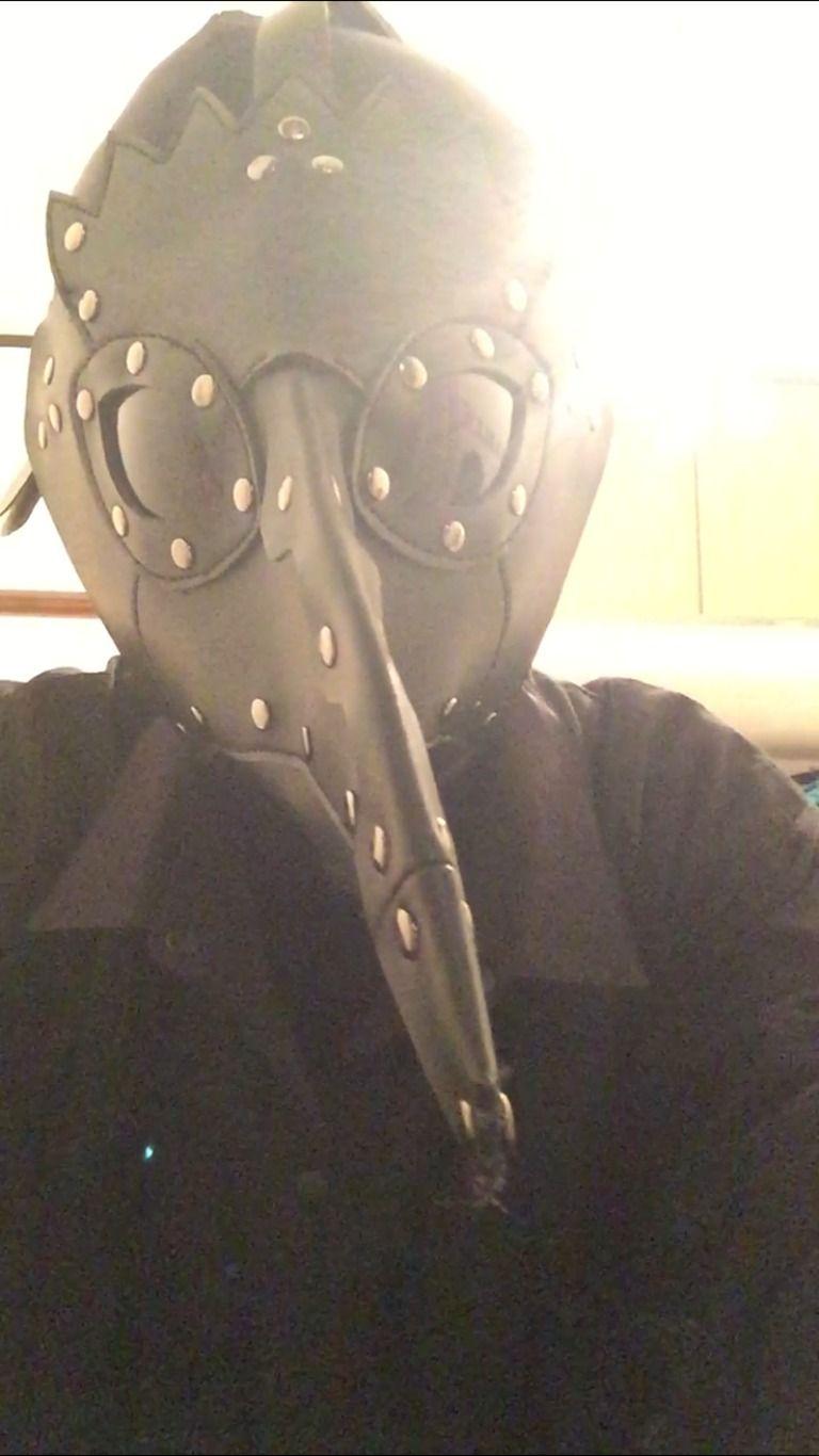 ペストマスクで回るゼンタイ
