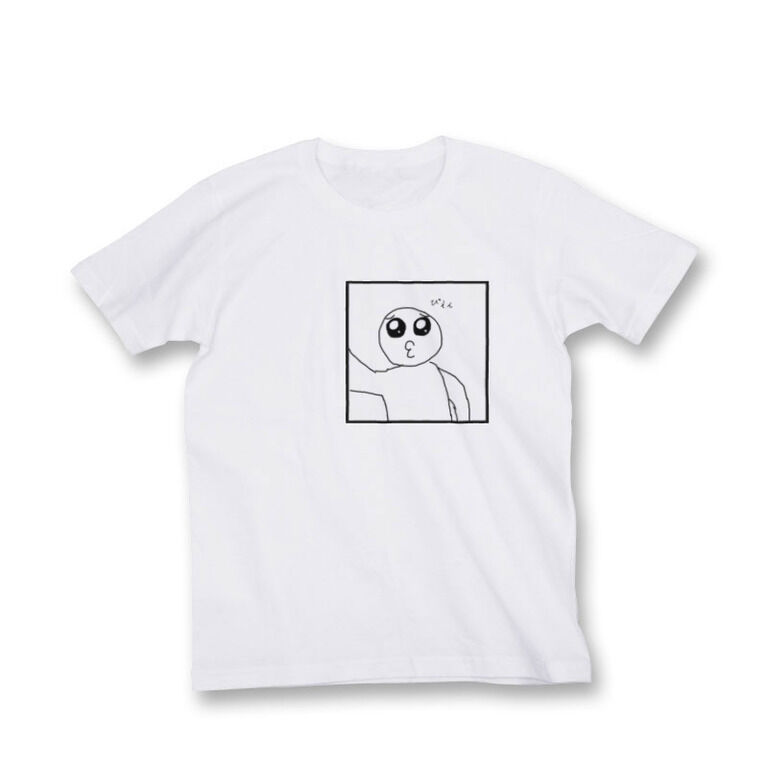 ゴメンピエンチュー自撮りTシャツ