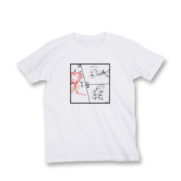 性癖に刺さってそのまま他の人に刺しに飛ぶ矢Tシャツ