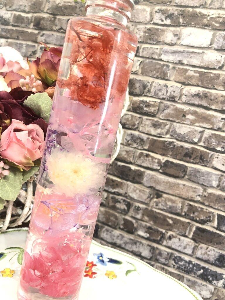 御供ハーバリウム(赤)※仏花使用