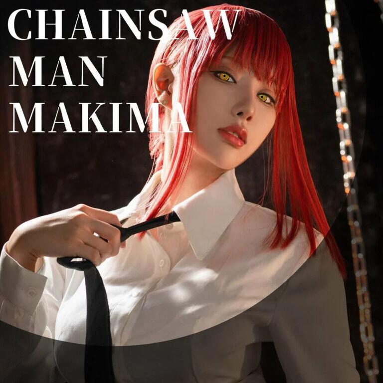 【FANTIA♥7月DL版フォトセット】《チェンソーマン 》マキマ