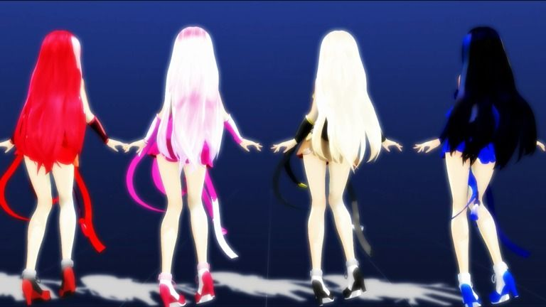 【MMD 萌王EX】YYB式改変秦始皇で『Ghost Dance』【紳士向け】1080p60fps NC