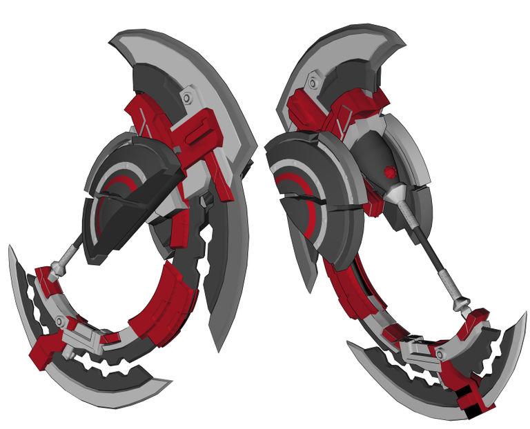 【GE3】神機3D素材ヘヴィムーン