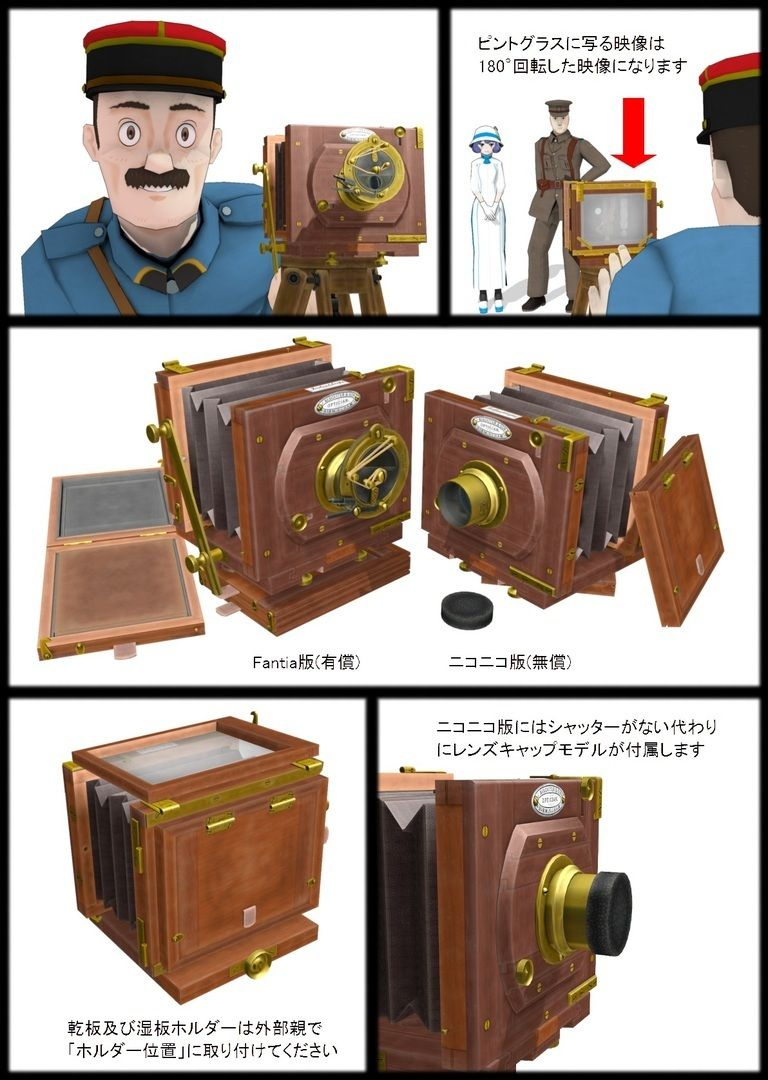 19世紀後半のカメラ
