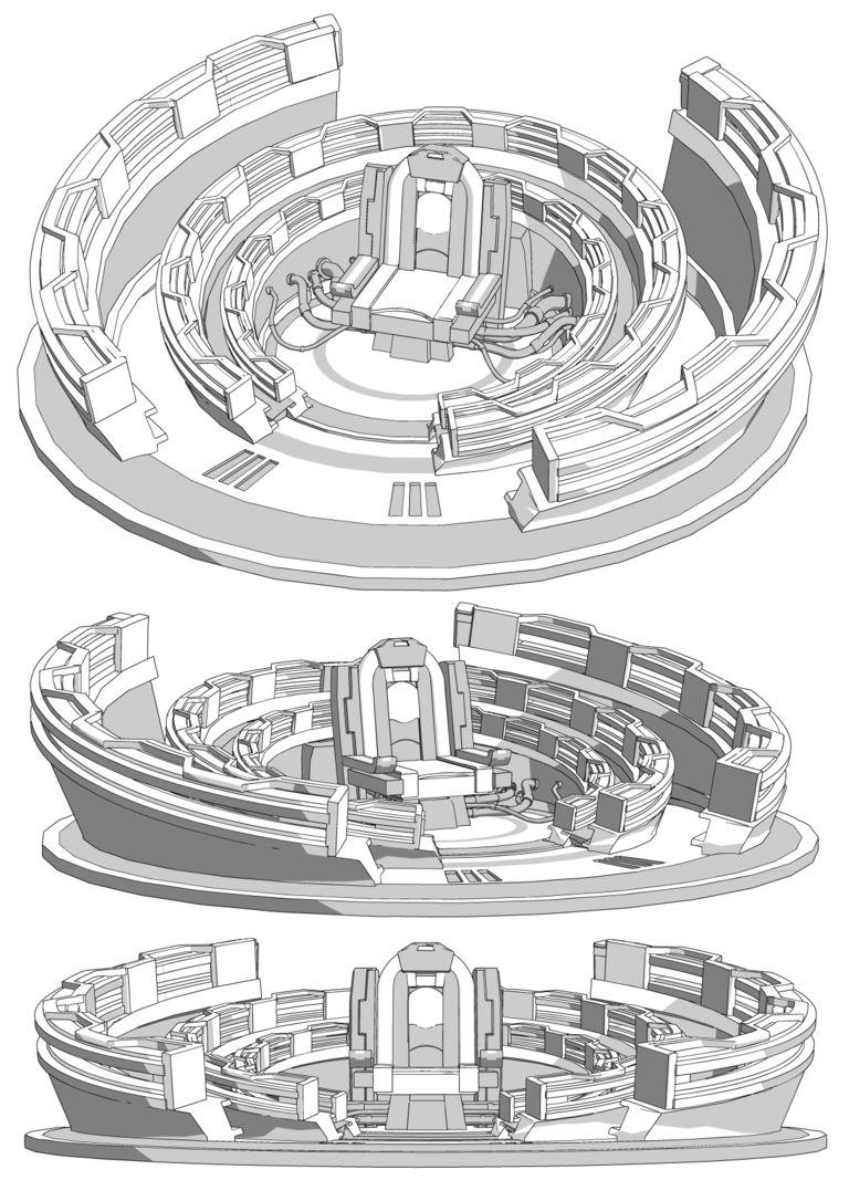【GE3】感応レーダー【3D素材】