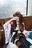 【エアコミケ記念無料公開】コミケ最終日 艦○れ金剛コスで有明ワ○ントンホテルオフパコ動画