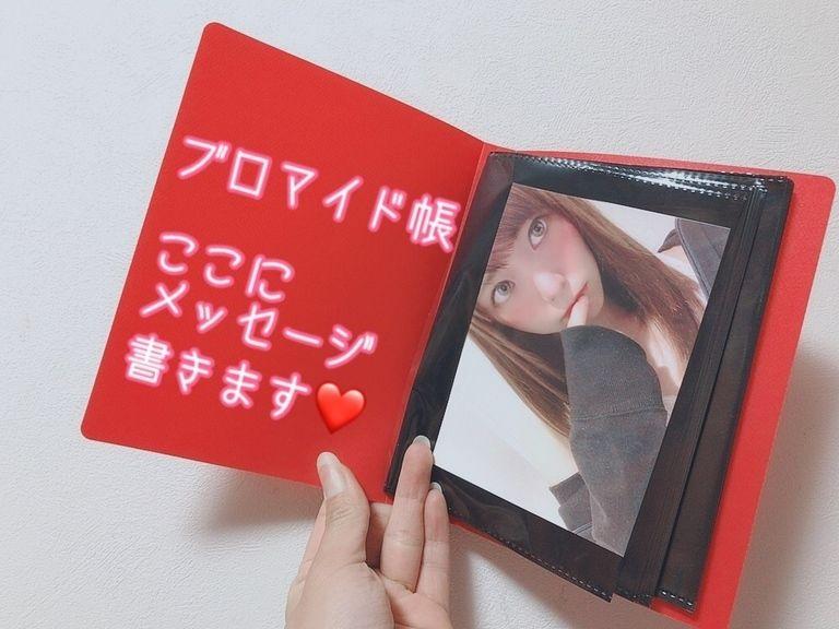 ブロマイド帳(赤)