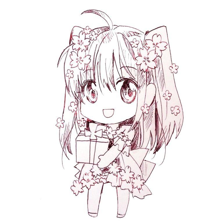 フリーアイコン【創作】桜咲SD