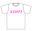 『エロカワ』Tシャツ サイズ:Sサイズ カラー:白 【送料無料】