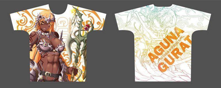 【受注限定】フルグラフィックTシャツ 封緘のグラセスタ アグナ・ガレータ XLサイズ