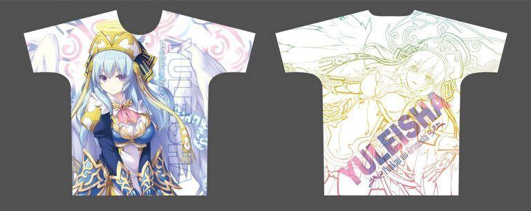 【二次受注】【受注限定】フルグラフィックTシャツ 封緘のグラセスタ ユリーシャ XLサイズ