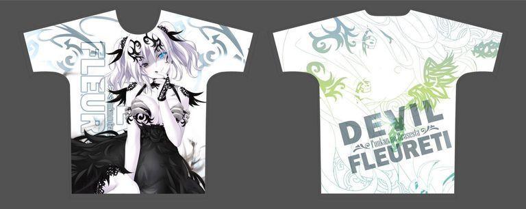 【二次受注】【受注限定】フルグラフィックTシャツ 封緘のグラセスタ 魔神フルーレティ XLサイズ