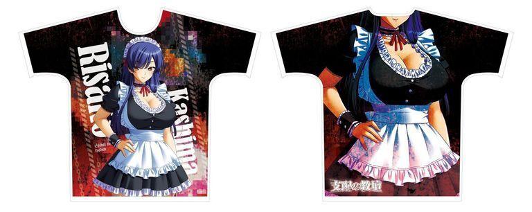 【二次受注】【受注限定】フルグラフィックTシャツ 支配の教壇 鹿島理沙子 XLサイズ