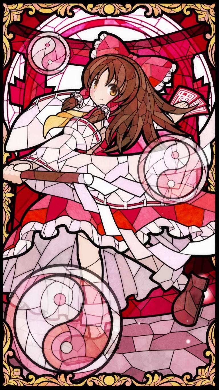 霊夢の動く壁紙ステンドグラス風 動作確認用