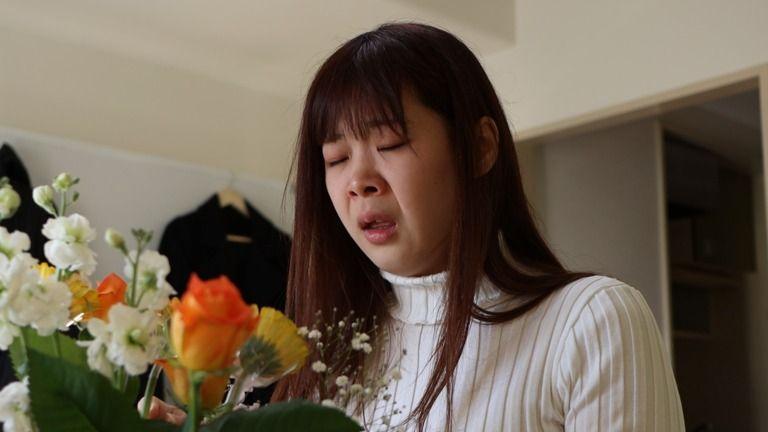 めいさんのくしゃみ Mei's sneezing