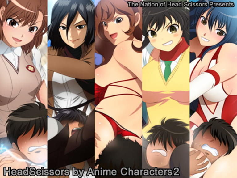 Headscissors by Anime Characters 2