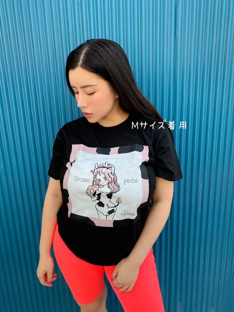 """永井マリアProduce""""Grosse Peche""""Tシャツ"""