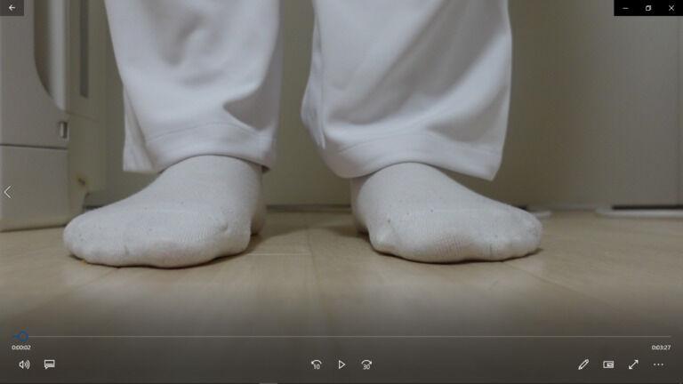 現役女性看護師による踏み潰し疑似体験動画