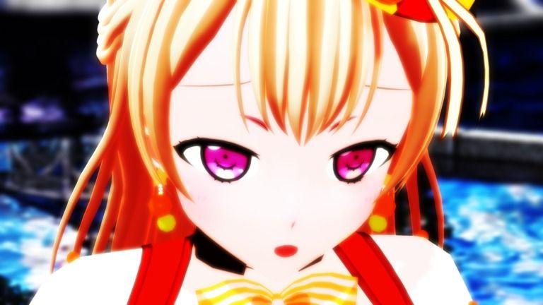 【MMDバンドリ】白鷺千聖で『世界は恋に落ちている』1080p60fps NC