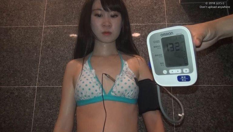 20歳 美咲りこさんの心音(水着Ver)Vol.12