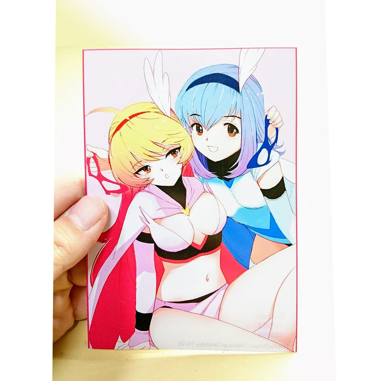 『美少女雀士!スパローガール!』出版記念特典ハガキ