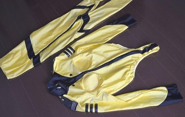 コスプレ衣装 宇宙戦艦ヤマト 森雪 レオタード 上下