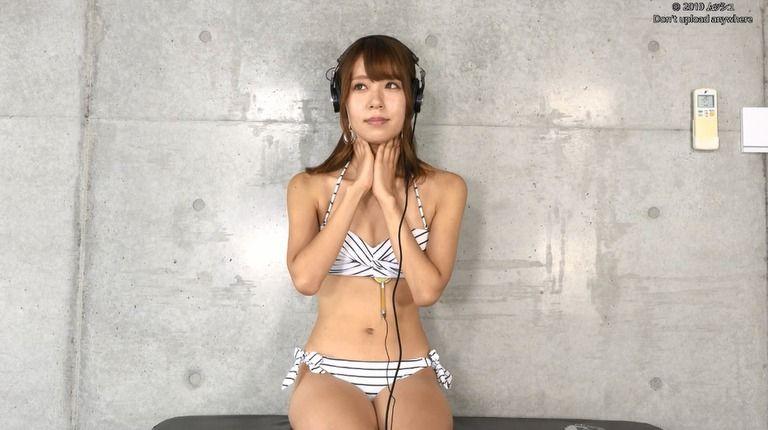 25歳 華月咲さんの心音集(水着Ver)Vol.1