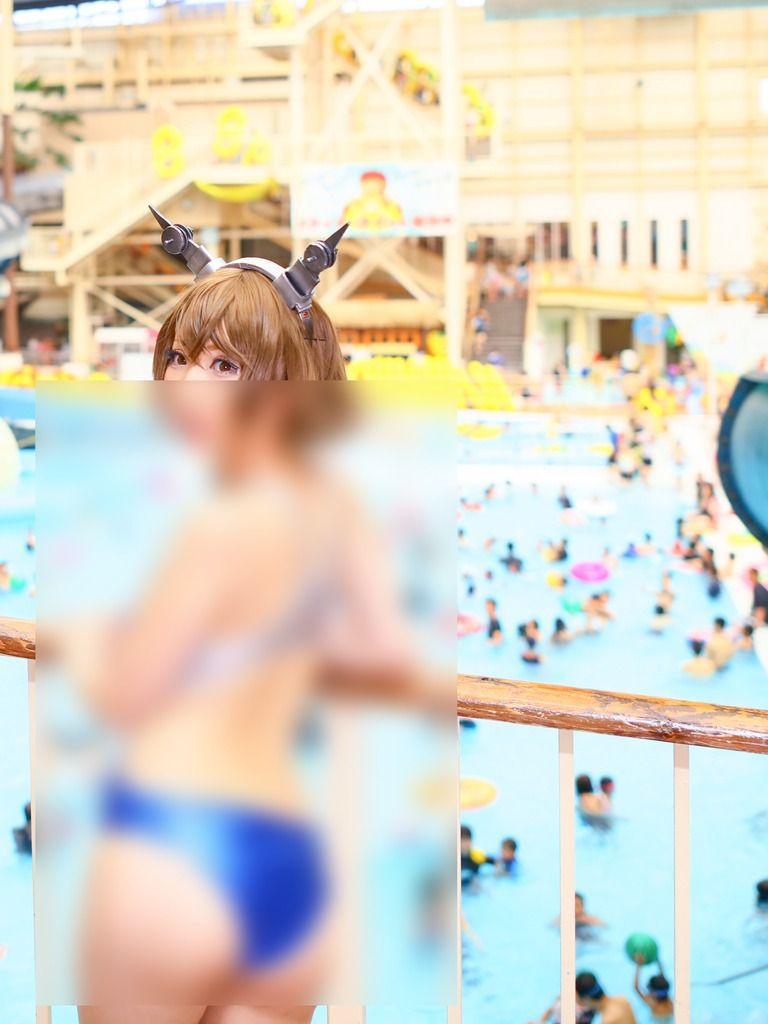 【艦これ陸奥】競泳水着写真集  90枚