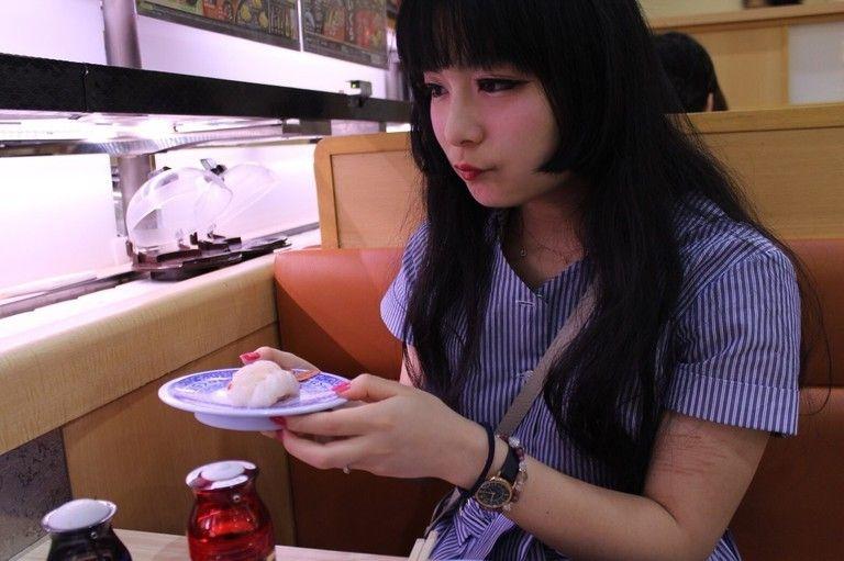 お寿司デート