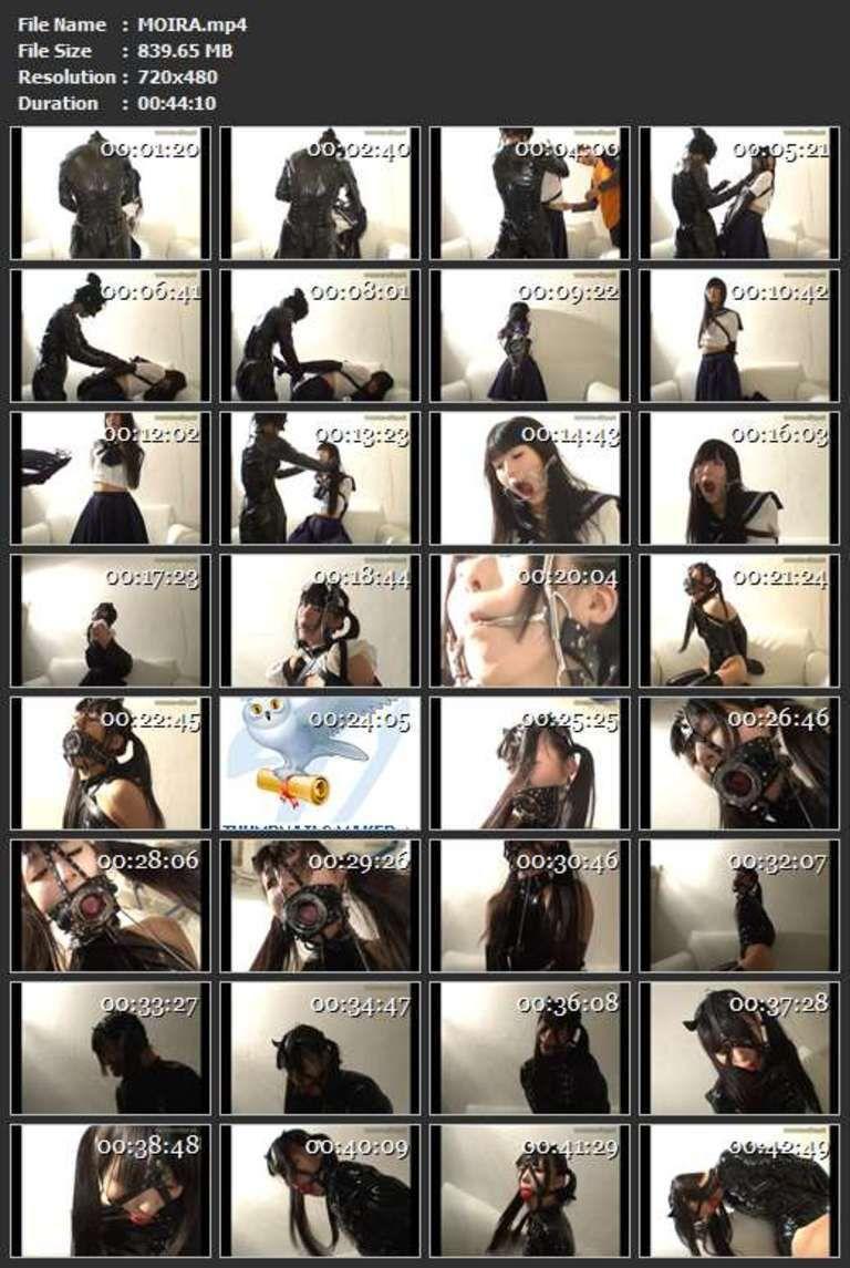 【有名コスプレイヤー】口枷屋モイラ 最初で最後のボンデージ映像完全版(無期限単体販売用)
