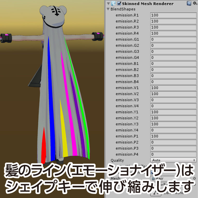 オリジナル3Dモデル「if the ♭(イフ・ザ・フラット)」