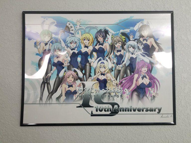 IS10周年記念バニコスA2ポスター(即時発送)