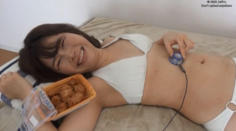 27歳 めろんさんの胃腸音集(水着Ver)Vol.1