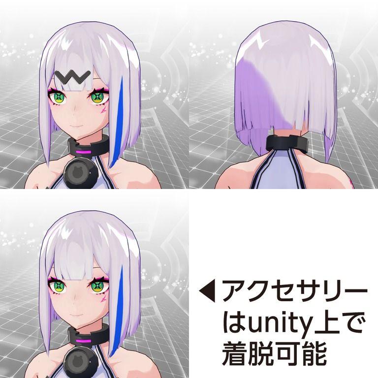 イフ用髪型セット01〈ヒート〉&〈シャイ〉【8/31(火)まで特別価格】