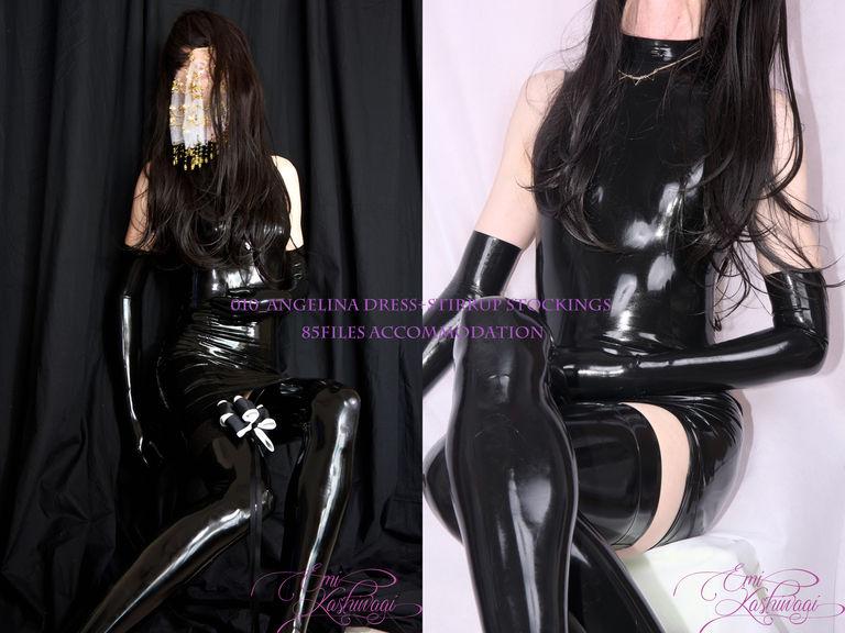 010_Angelina Dress+Stirrup Stockings