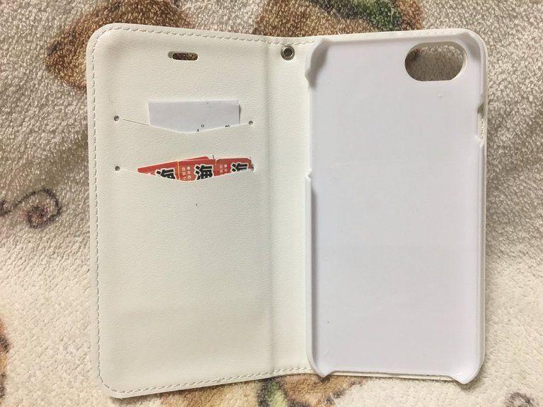 竜王さま手帳型iPhoneケース